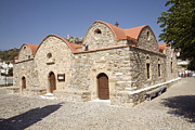 Greece Photos . Photos - Church of the Dormition of the Virgin Asklipio Rhodes Greece by Ian Murray