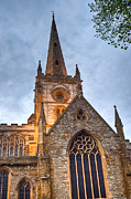 Stratford Acrylic Prints - Church of the Holy Trinity Stratford upon Avon 2 Acrylic Print by Douglas Barnett