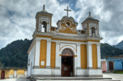 The Transfiguration Prints - Church of the Transfiguration Quetzaltenango Guatemala 3 Print by Douglas Barnett