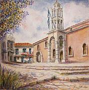 Yvonne Ayoub - Church of the Treis Hiarches Three Bishops Skiathos