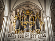 Church Organ Print by Kurt Forschen
