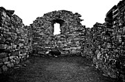 Historisch Prints - Church Ruins Hvalsey Print by Juergen Weiss