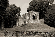 Harpers Ferry Photos - Church Ruins in Harpers Ferry by Judi Quelland