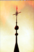 Religious Photo Posters - Church Spire Poster by Joana Kruse