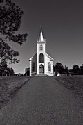 Driveway Photos - Church St Teresas of Avila  by Garry Gay