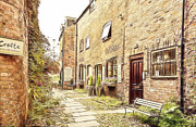 United Kingdom Greeting Cards Posters - Church View Court Ormskirk Poster by Liam Liberty