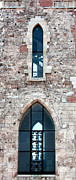 St Mary Magdalene Metal Prints - Church Windows Metal Print by Shirley Mitchell