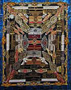 Cuba Mixed Media - Cigar Bands by Roberta Shaughnessy