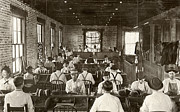 1909 Framed Prints - Cigar Factory, 1909 Framed Print by Granger