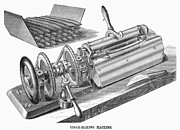 Cigar Prints - Cigar-making Machine, 1870 Print by Granger