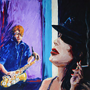 Session Musician Prints - Cigarette AFTER Print by Mick Grochowski