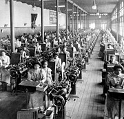 Cigarette Photos - Cigarette Factory in Mexico City - Mexico - c 1903 - El Buen Tono by International  Images