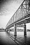 Ohio River Photos - Cincinnati Bridge Taylor Southgate by Paul Velgos