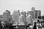 Ohio Prints - Cincinnati Downtown Buildings Print by Paul Velgos