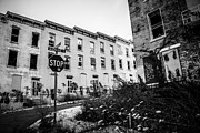 Dilapidated Houses Prints - Cincinnati Glencoe-Auburn  Abandoned Buildings Print by Paul Velgos