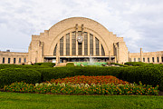 Fountain Framed Prints - Cincinnati Museum Center at Union Terminal Framed Print by Paul Velgos