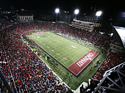 Cincinnati Photos - Cincinnati Nippert Stadium The Home of Bearcat Football by University of Cincinnati
