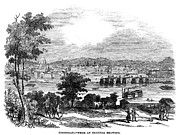 1845 Photos - Cincinnati, Ohio, 1845 by Granger