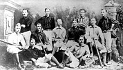Portaits Prints - Cincinnati Reds, Baseball Team, 1882 Print by Everett