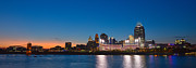 Craig Bowman - Cincinnati Skyline Sunset