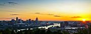 Cincinnati Sunrise II Print by Keith Allen
