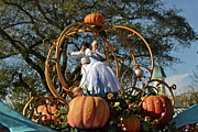 Wdw Framed Prints - Cinderella Framed Print by Carol  Bradley - Double B Photography
