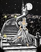 Haunted Houses Prints - Cinderella Print by Svetlana Sewell