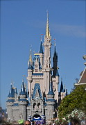 Wdw Prints - Cinderellas Castle Print by Carol  Bradley - Double B Photography