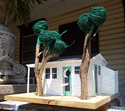 Animals Sculptures - Cindy And Mikes Cottage by Gordon Wendling
