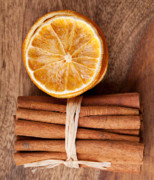 Spiced Photos - Cinnamon and Orange by Nailia Schwarz
