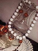 Food And Beverage Jewelry Originals - Cinnamon Elegance Jewelry Set by Jamie Pool