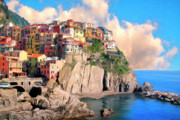 Dominic Piperata Metal Prints - Cinque Terre Metal Print by Dominic Piperata