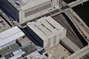 Commercial Real Estate Aerial Photographs - Cira Center South Parking Garage South 30th Street Philadelphia Pennsylvania 19104 by Duncan Pearson