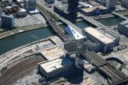 Philly Flights Originals - Cira Centre 30th and Arch Streets Philadelphia PA 19104 by Duncan Pearson