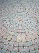 Bricks Prints - Circle Brick Road Print by Deborah MacQuarrie
