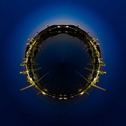 Lpg Prints - Circle panorama of Petrochemical industry Print by Weerayut Kongsombut