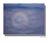 Xoanxo Cespon Framed Prints - Circled rainbow Framed Print by Xoanxo Cespon
