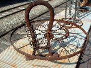 Farm Sculpture Originals - Circling Spings by Bill Bernsen