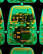 Integrated Prints - Circuit Boards Print by Adam Hart-davis