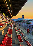Attraktion Metal Prints - Circuit de Catalunya - Barcelona  Metal Print by Juergen Weiss