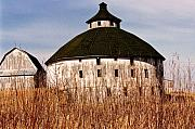 Barn Photos - Circular by Jeff Barrett