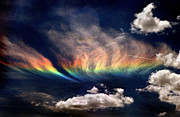 Rainbow Framed Prints Posters - Circumhorizon Arc Poster by Brian Plonka