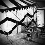 Tent Framed Prints - Circus conversation Framed Print by Silvia Ganora