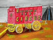 Circus. Paintings - Circus Days by Gordon Wendling