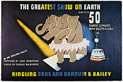 Middle Art - Circus Poster, 1942 by Granger