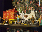 Miniatures Art - Circus Wagon Miniatures by Gordon Wendling