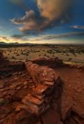 Desert Photo Originals - Citadel Walls by Mike  Dawson