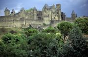 Languedoc Prints - Cite In Carcassonne World Heritage Site Print by Axiom Photographic