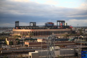 Sports Framed Prints Prints - Citi Field - New York Mets Print by Frank Romeo