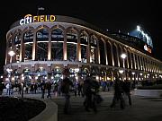 Mets Prints - Citi Field Opening Night 2009 Print by Peter Aiello